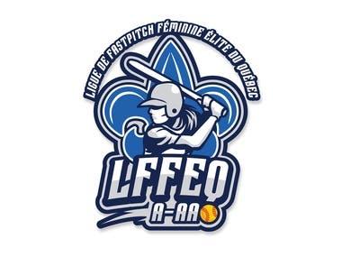 Sports Team Logo-Ligue De Fastpitch Féminine Élite Du Québec