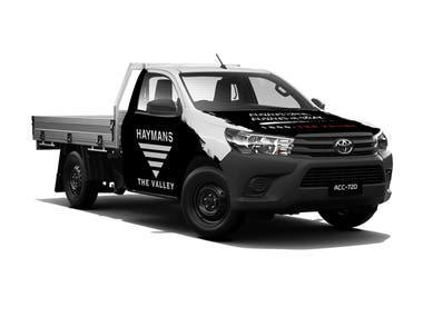 Truck Wrap Design - Haymans The Valley, AU