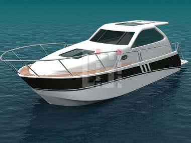 BOATS MODELLING AND RENDERING