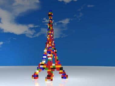 Lego web viral