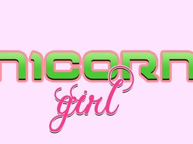 Unicorn Girl streaming Logo