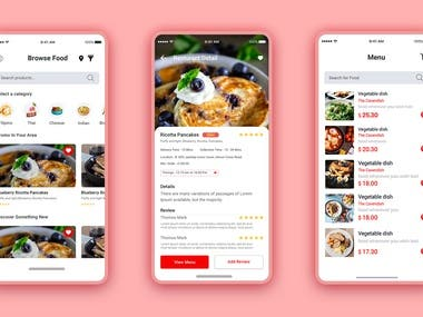 Online Food Ordering & Delivery App