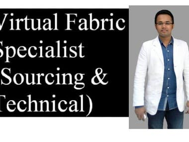 I Will be your Virtual Fabric Sourcing and Technical Advisor