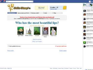 Facebook Funny App