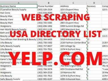 USA BUSINESS DIRECTORY YELP.COM