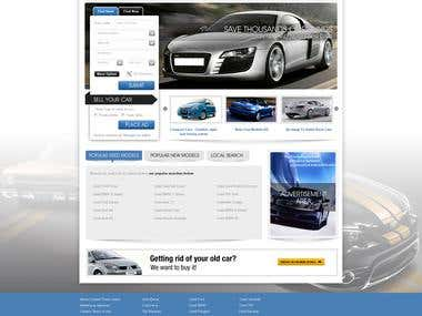 Used automotive reselling Portal