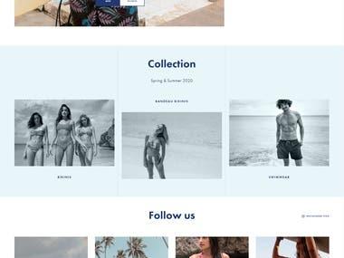 e-commerce website (wooCommerce)