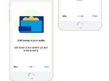 Money transfer App Design