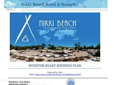 Restaurant and Resorts Business Plan