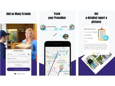 ProWalk App ScreenShots