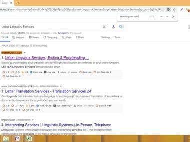 SEO Google Top Rank