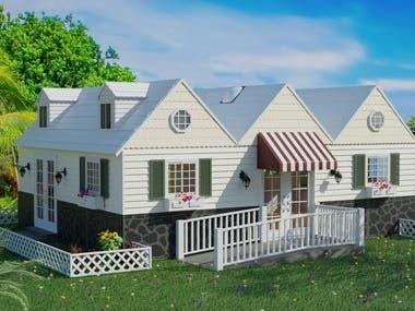 Tiny House Community Centre.