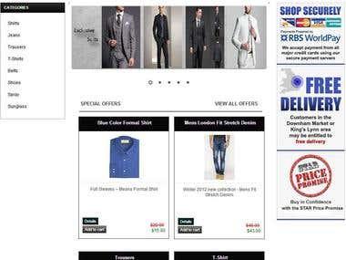 E Commerce in .Net