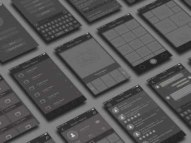 Own Created Wireframe Kit