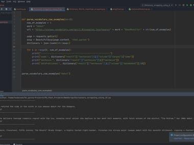 Web Scrapping / Data Mining