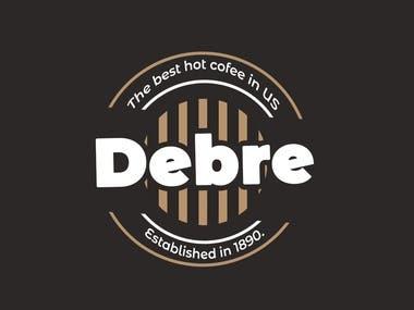 Debre Vintage Logo design