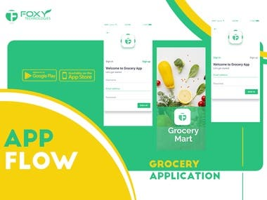 Grocery Ordering Delivery Application