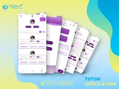 Tutor Application- Voice , Video