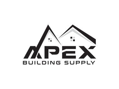 Apex real estate agency company logo design.