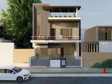 Residence Design for Abhishek G, Haryana