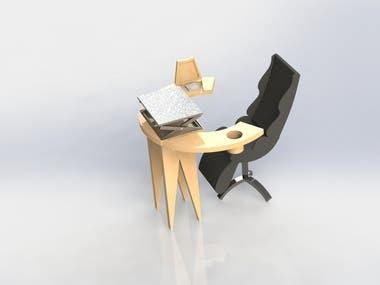 CHAIR DESIGN (CAD model)