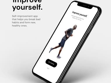 Self-improvement app