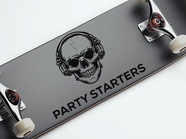 Logo Design for PARTY STARTERS