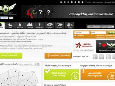 Social Sports System - playarena.pl