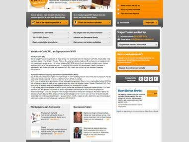 Baan Bonus Breda- CMS website based on Codeigniter framework