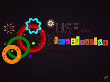 use imagination