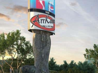 Billboard design and visualization