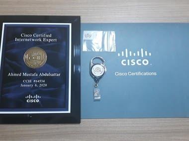 CCIE DC #64534 - Cisco Expert