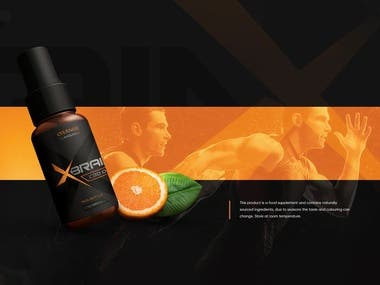 Xbrain Branding Design