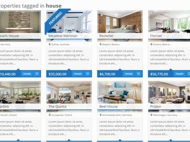 Wordpress Real Estate site.
