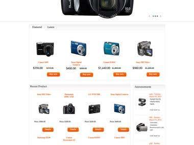 DotNetNuke based CMS Website cum Shopping Cart