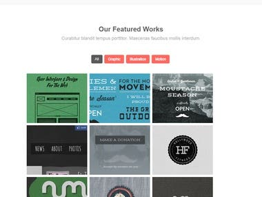 A PSD to Bootstrap template ||