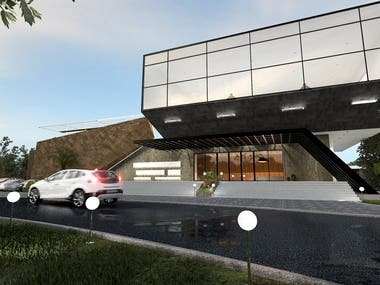 Architectural Exterior Visualization
