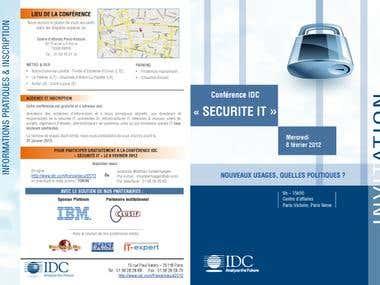 Invitation Brochure Design