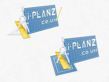 Winning design for i-planz.co.uk