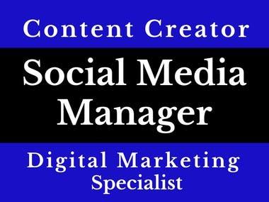 Social Media Manager | Content Creator