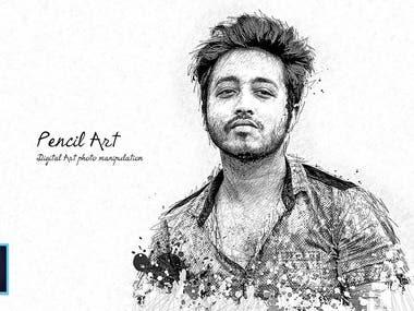 Portrait to Pencil Sketch