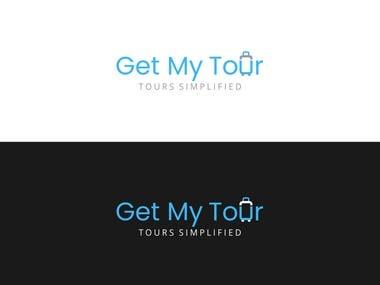 Logo designed for Get My Tour