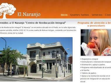 Website for El Naranjo