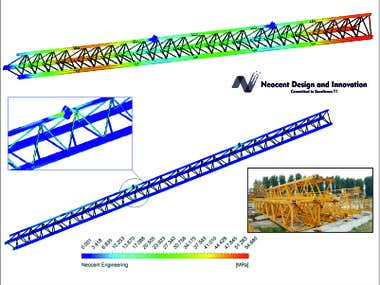 Design and Validation on Crane lashing structure.