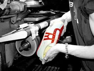 Sneaker photoshoot