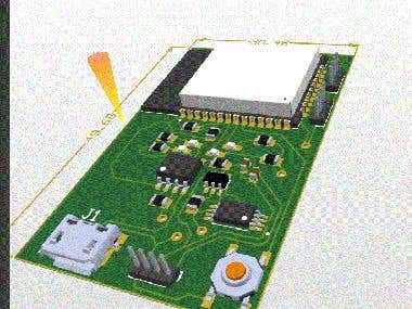Pcb designed for the client.