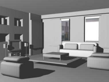 exterior render,interior design,model,website layout,logos