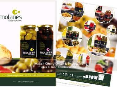 Molanes - Imagen Corporativa & Packaging para El Nido