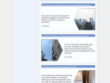 UrbanSystems website