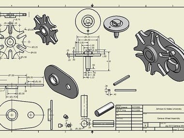 Solidworks drawing